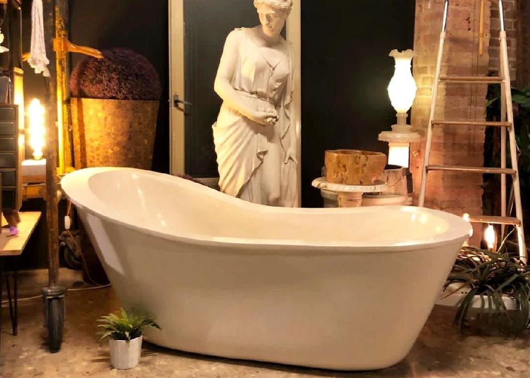 Vasca Da Bagno Espanol : Vasca da bagno in pietra bianca roma mixa plesier sl arrelart